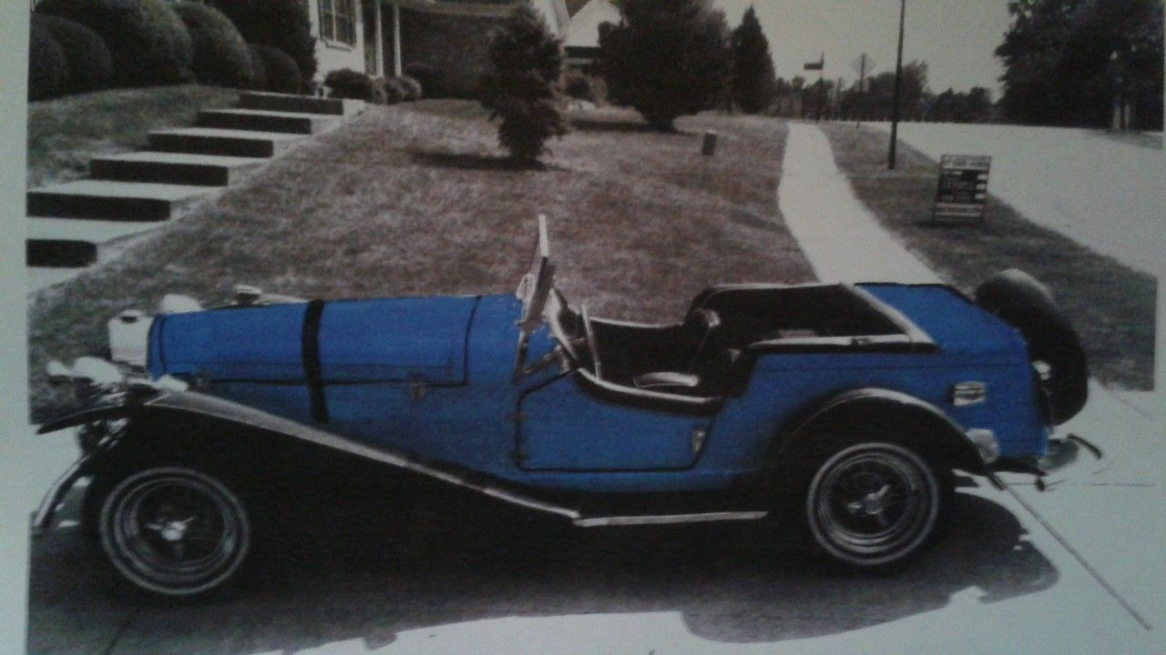 This Is How I Wanna Paint Her My 1929 Mercedes Benz Ssk