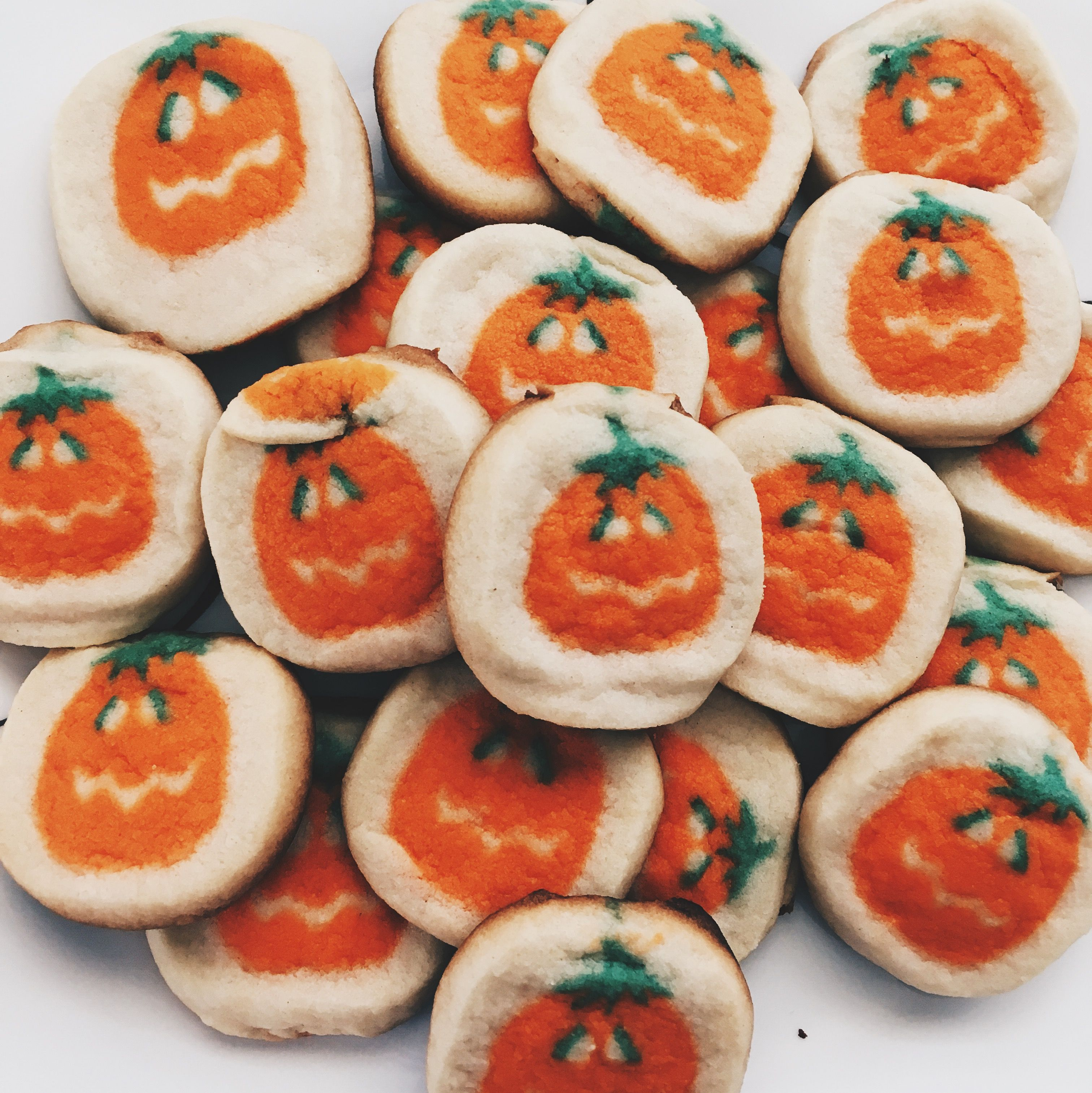Pillsbury Pumpkin Cookies - House Cookies