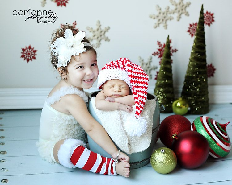 Carrianne Photography: Christmas baby photo