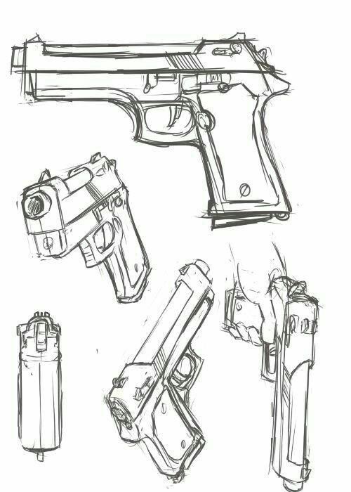 resultado de imagen para armas vistas de diferentes angulos