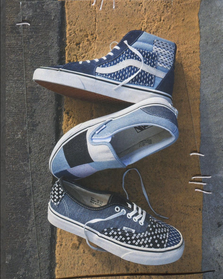 aad2e75f54 Patched up  introducing the new Patchwork Denim Pack. Shop online or find a  store at vans.com classics