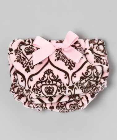 This Pink Damask Diaper Cover - Infant is perfect! #zulilyfinds