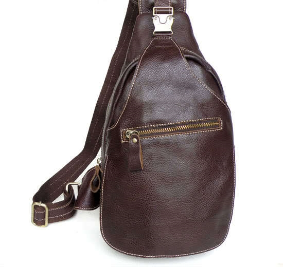 53.76$  Watch now - http://aligi3.worldwells.pw/go.php?t=32312085743 - Men bags genuine leather chest pack fashion cowhide wax chest pack large package men messenger bag men mobile bag 2015 #VP-J2467 53.76$
