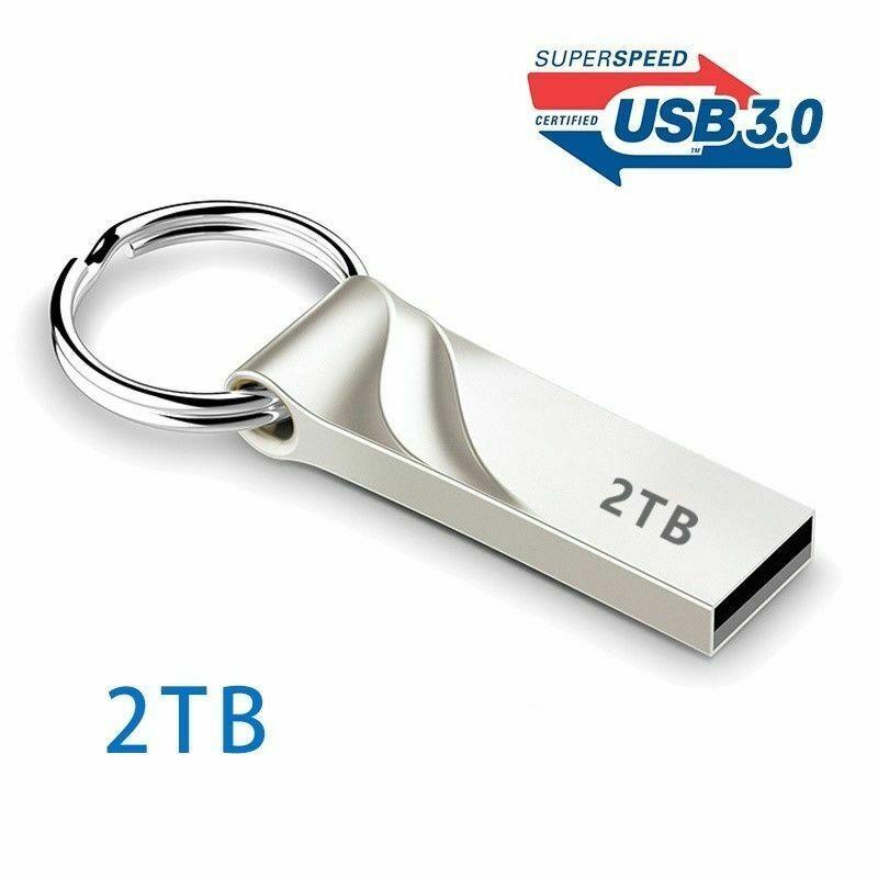 2tb Flash Drive Usb 3 0 Memory Stick Pendrive Disk Metal Key Thumb