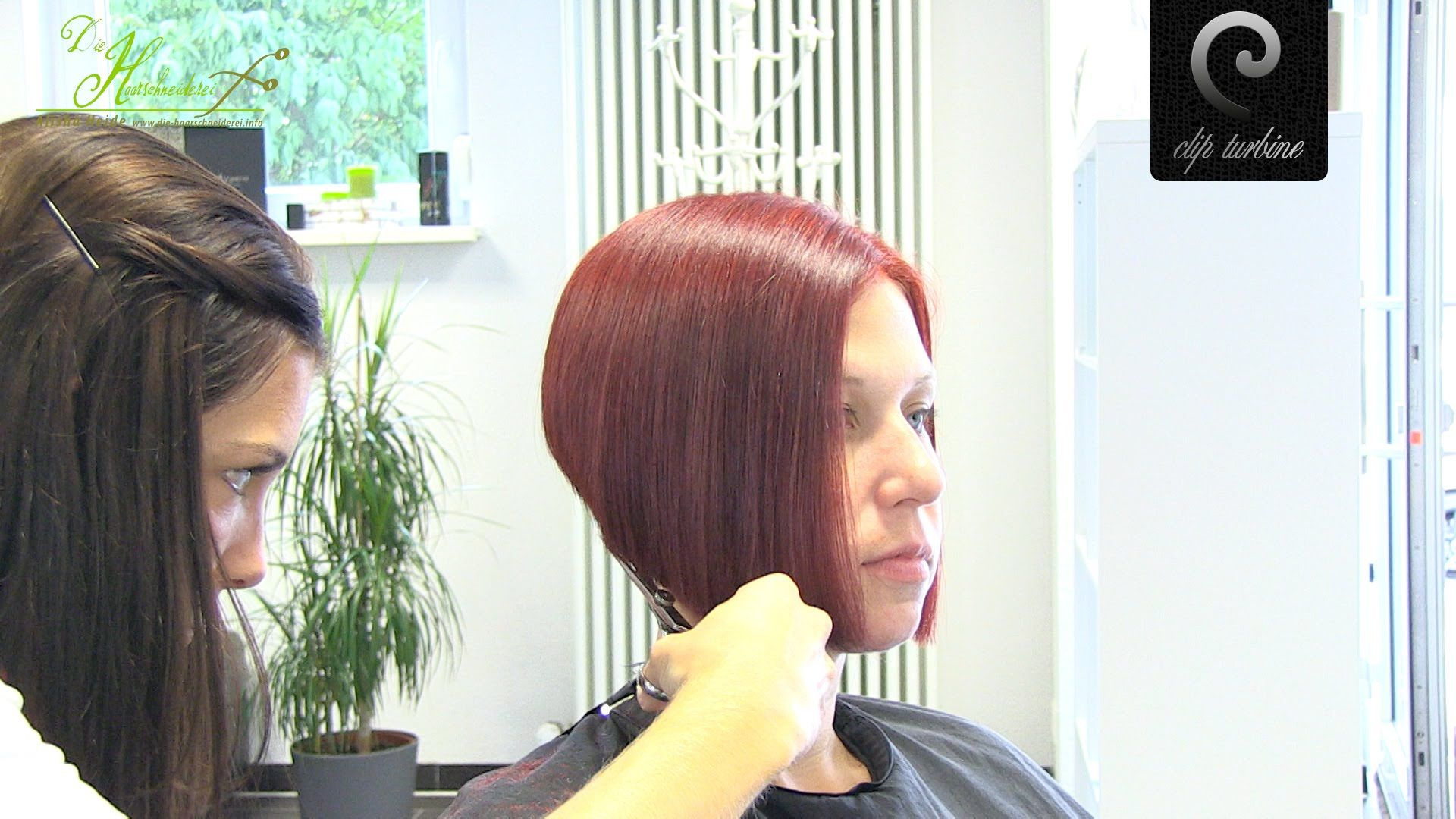 Classic A Line Bob Haircut With Modern Undercut Extreme Hi Shaved