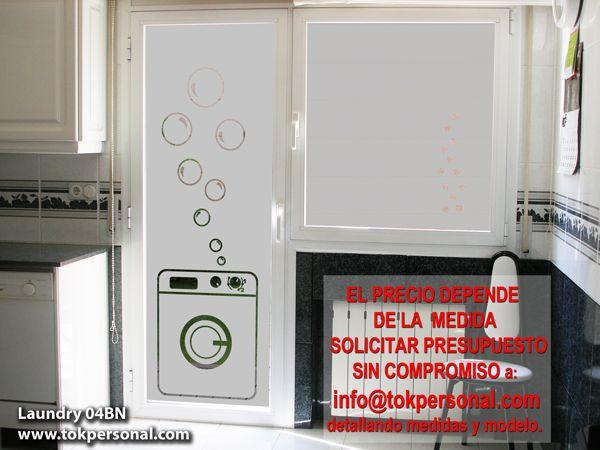 Vinilo decorativo para la puerta de tu lavadero mant n for Puerta lavadero