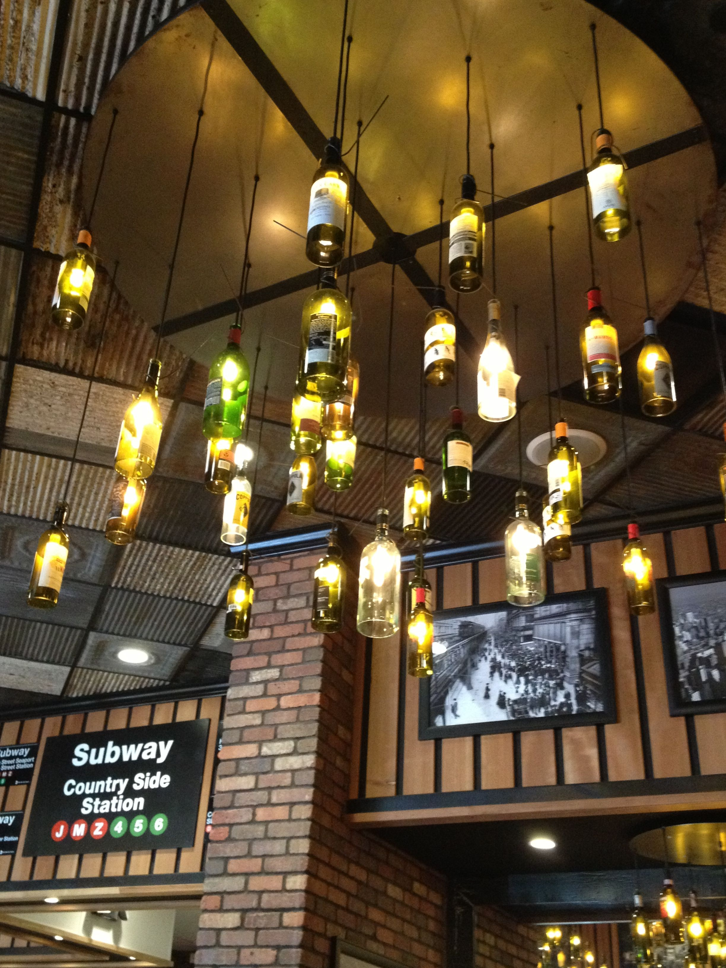 Cool Idea For Lighting In Bat Bar Ideas
