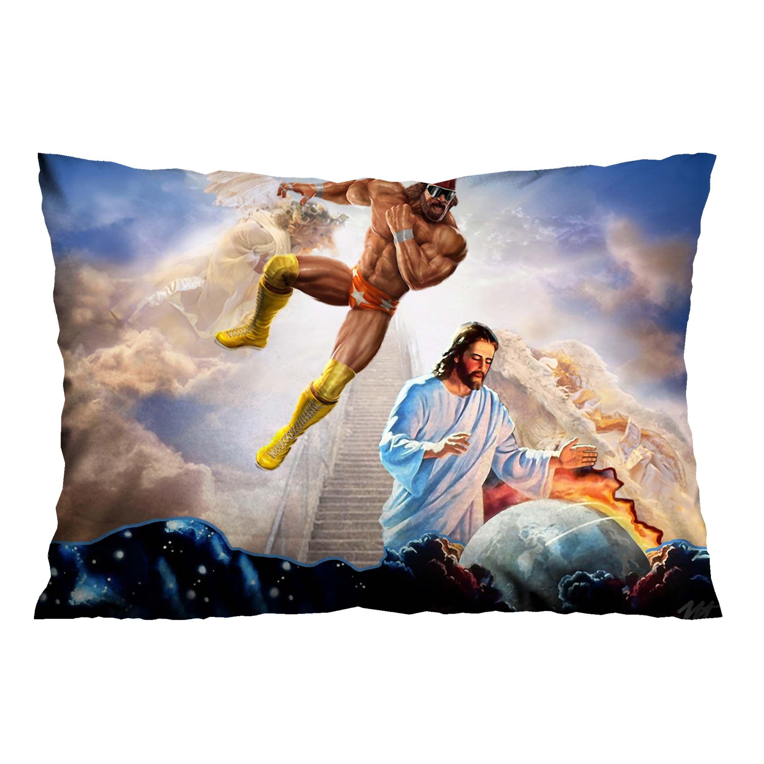 MACHO MAN RANDY SAVAGE JESUS Pillow Case Cover Vendor