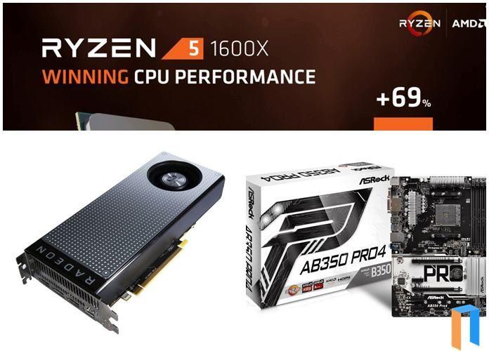 rakit pc gaming 10 jutaan menggunakan processor amd ryzen 5 1600x dan vga rx470 4gb terbaru