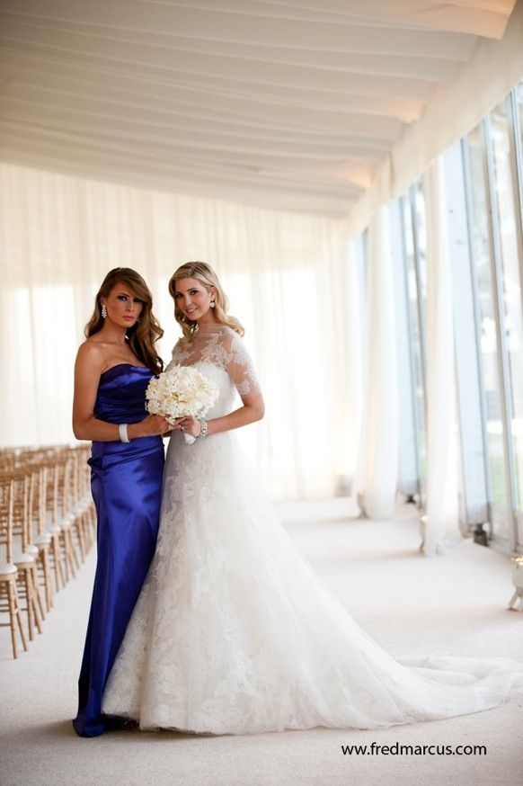At Ivanka S Wedding Melania And It Pains Me To Say But They Look Wonderful