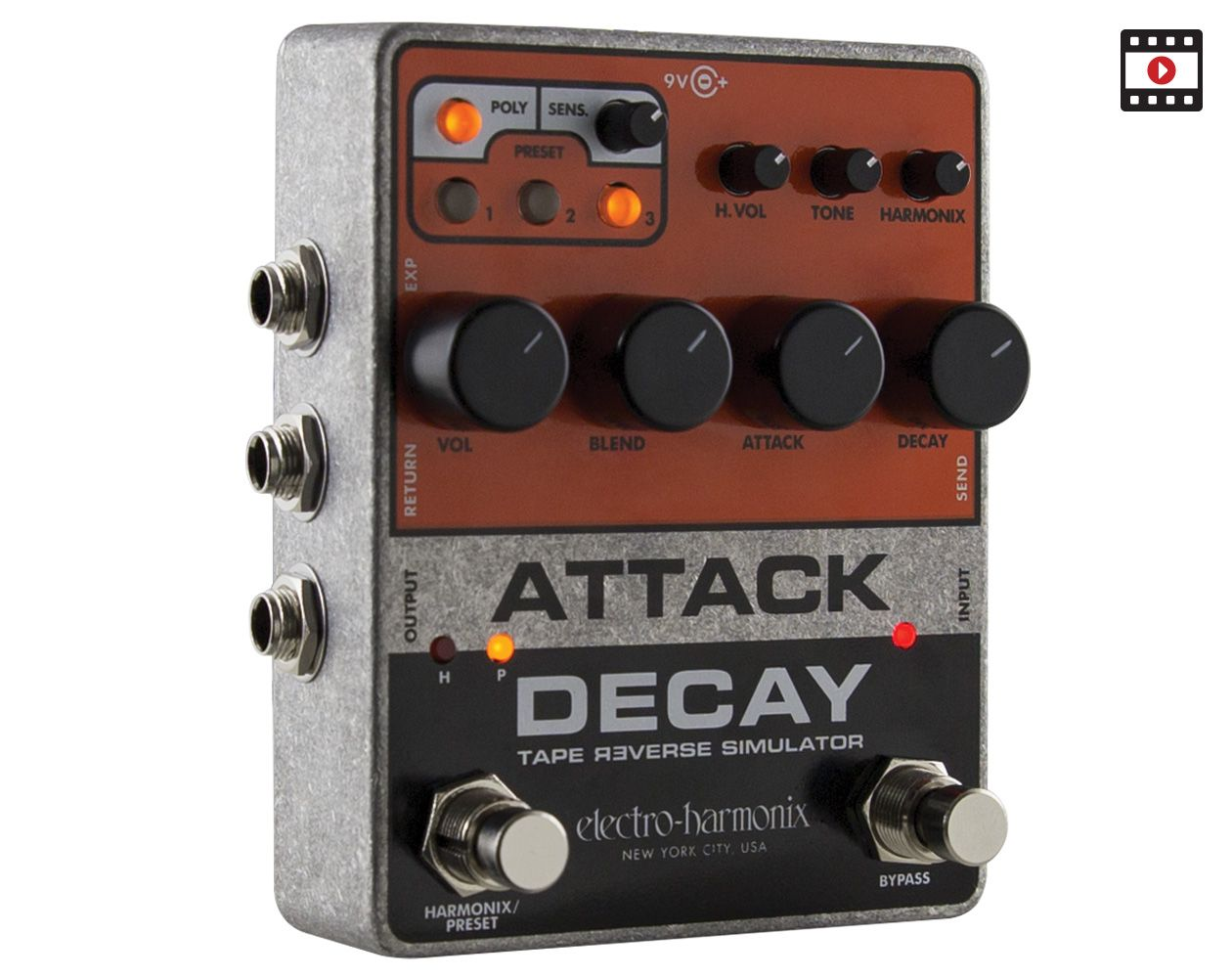 Electro-Harmonix Attack Decay Review
