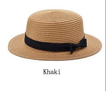 6e42154d4889b Dexing  Lady sun caps straw hat boater hat Women s