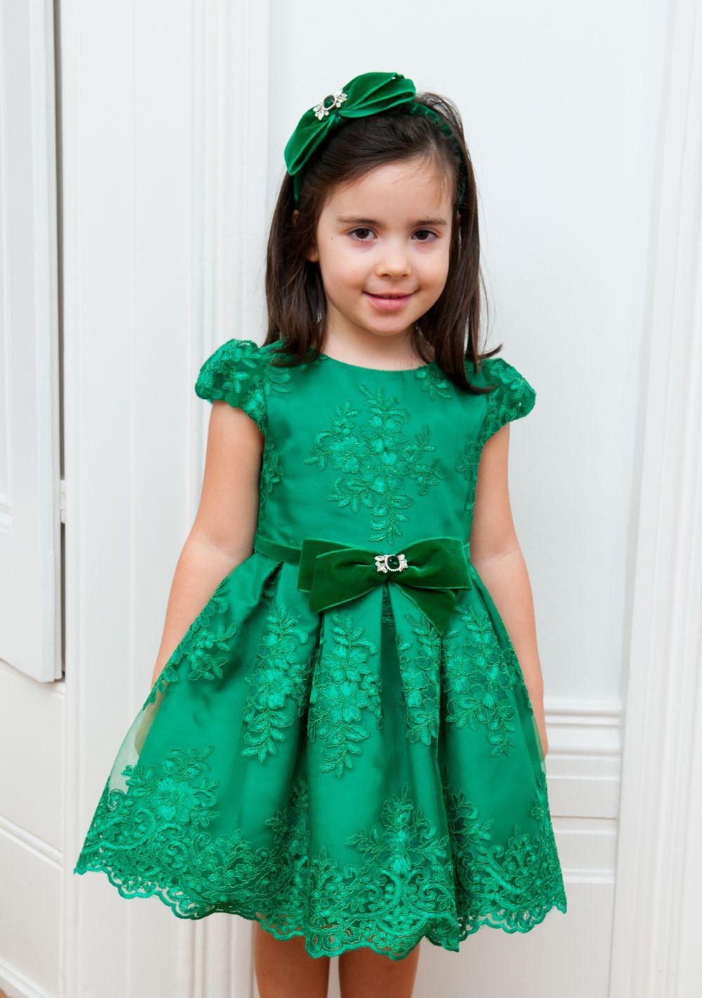 Park Art|My WordPress Blog_Green Party Dress For Baby Girl