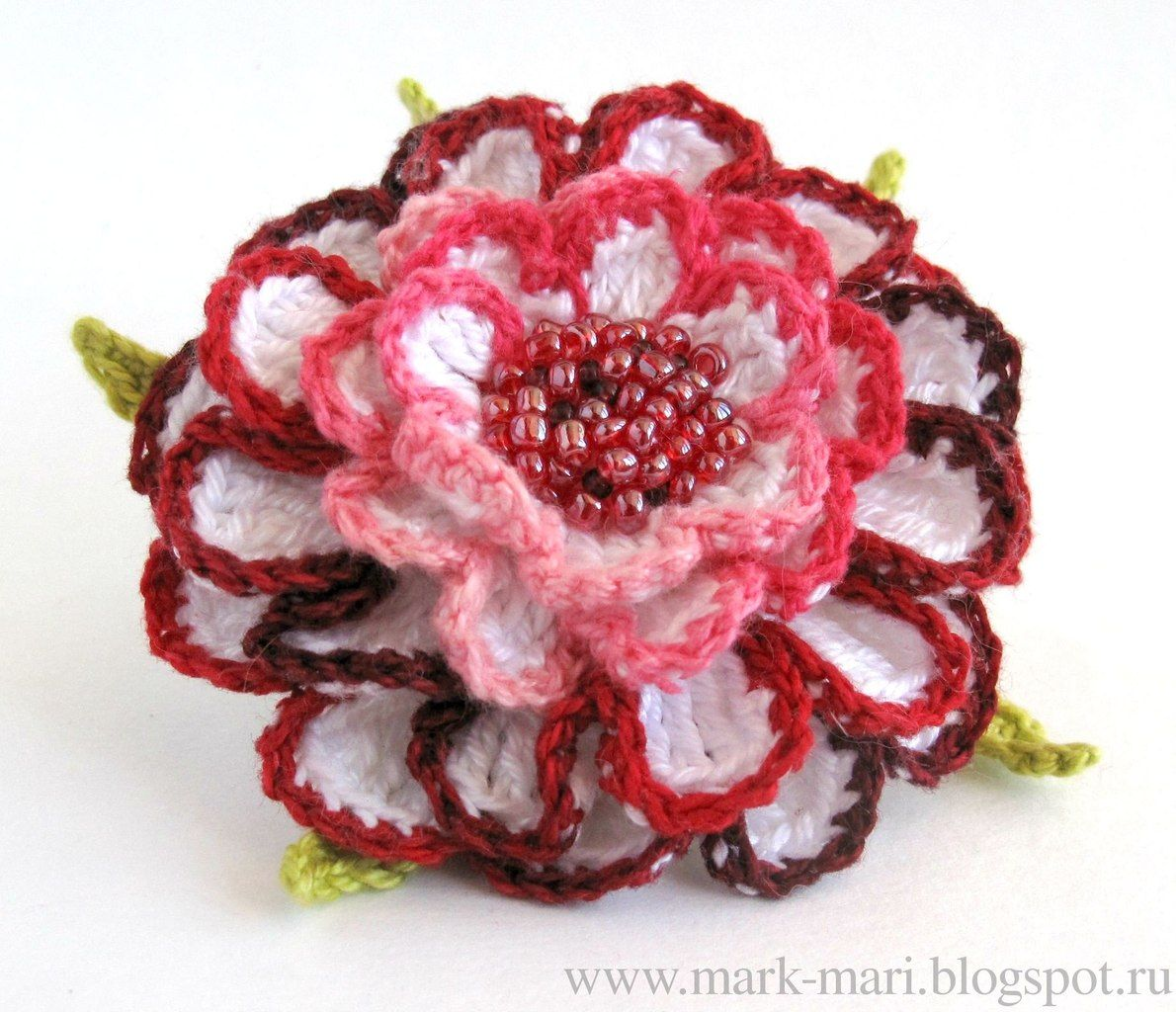 Crochet Flowers And Flower Rose Flores Crochetflowers Pretty Diagram A Fabulous Russian Site Especially For Beautiful Unique Charts Provided As Are Photo Tuts Each Step