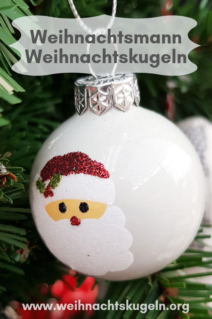 Weihnachtsdeko Kugeln Groß.Weihnachtsmann Weihnachtskugeln Bringen Die Passende Stimmung Für