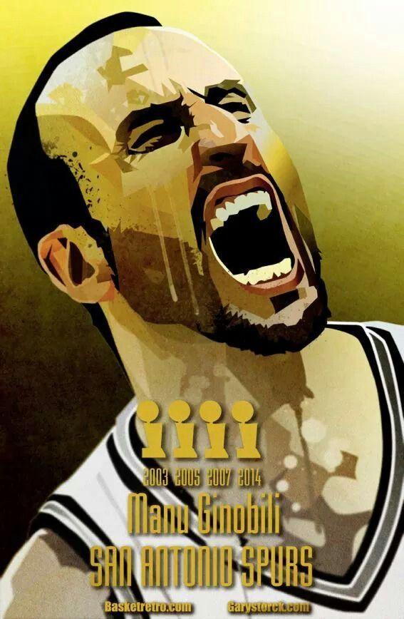 Spurs Manu Ginobili | SPURS | Pinterest | Manu ginobili