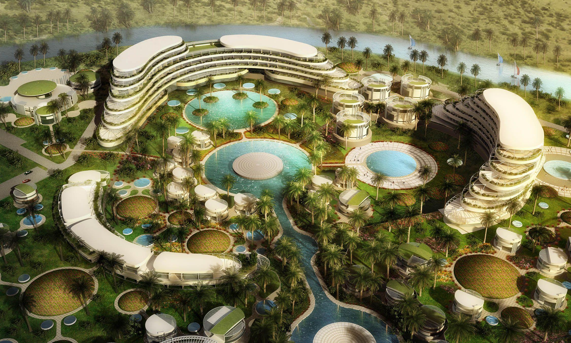 Al Ain Hilton Hotel Master Plan