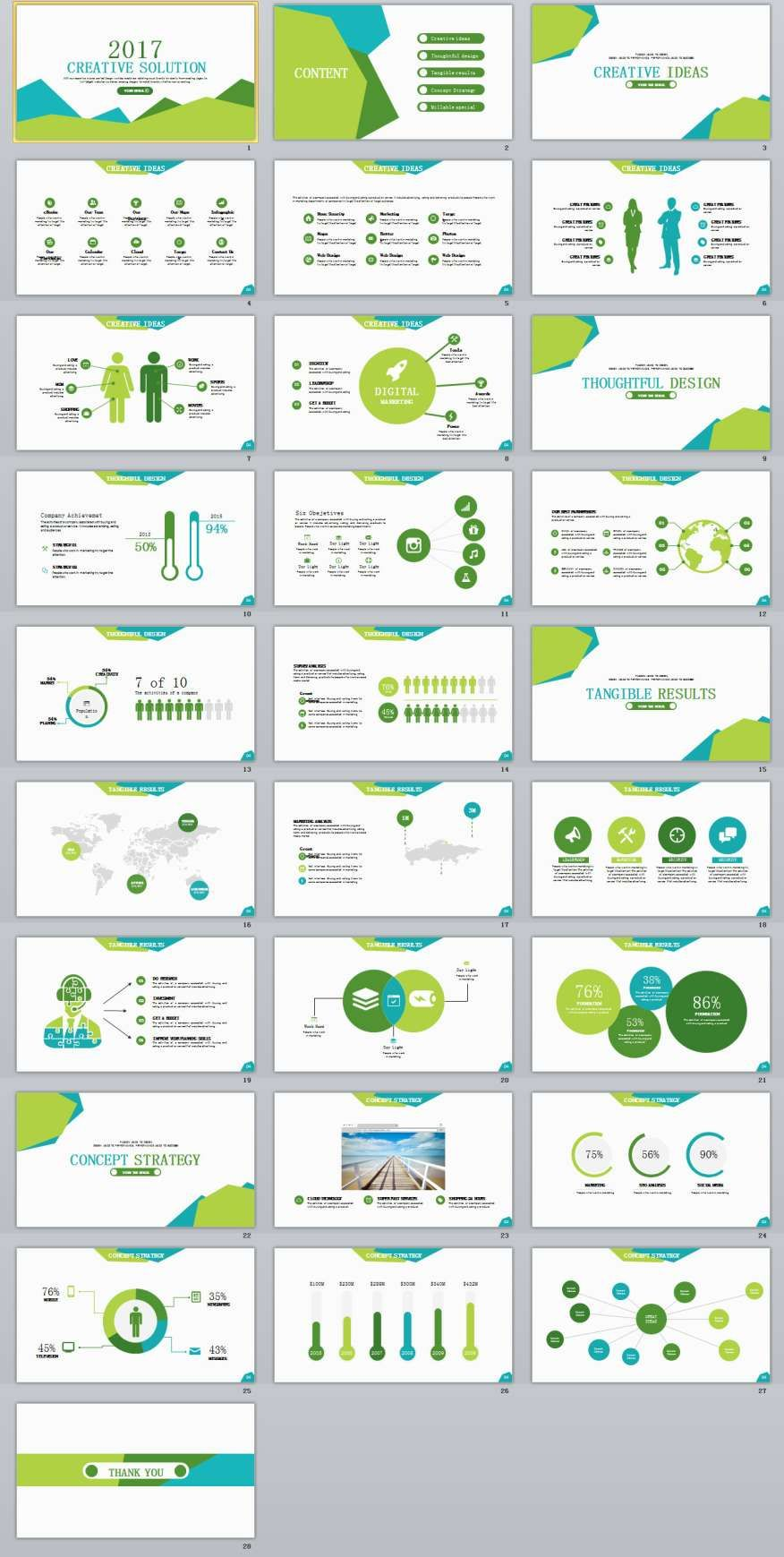 28 creative ideas powerpoint template 28 creative ideas powerpoint template the highest quality powerpoint templates and keynote templates download toneelgroepblik Gallery