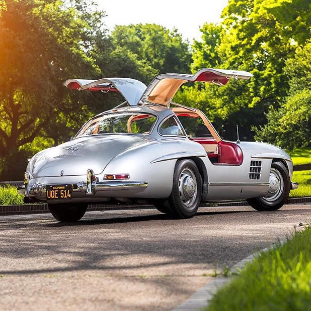 "Classic Cars on Instagram: ""1954 Mercedes-Benz 300SL Gullwing ..."