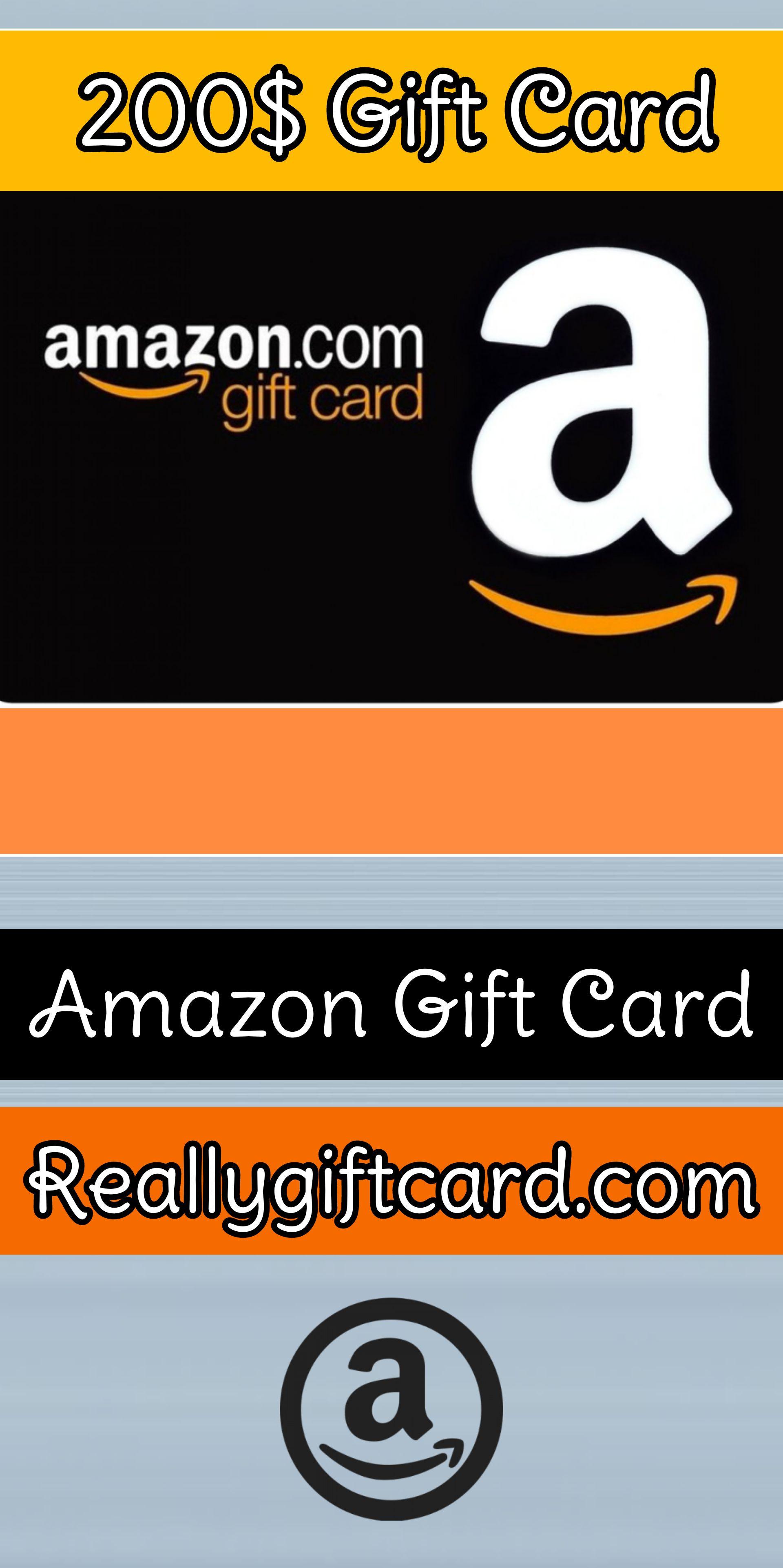 200 Amazon Gift Card If You Activate Today Amazon Gift Card Free Amazon Gift Cards Amazon Gifts