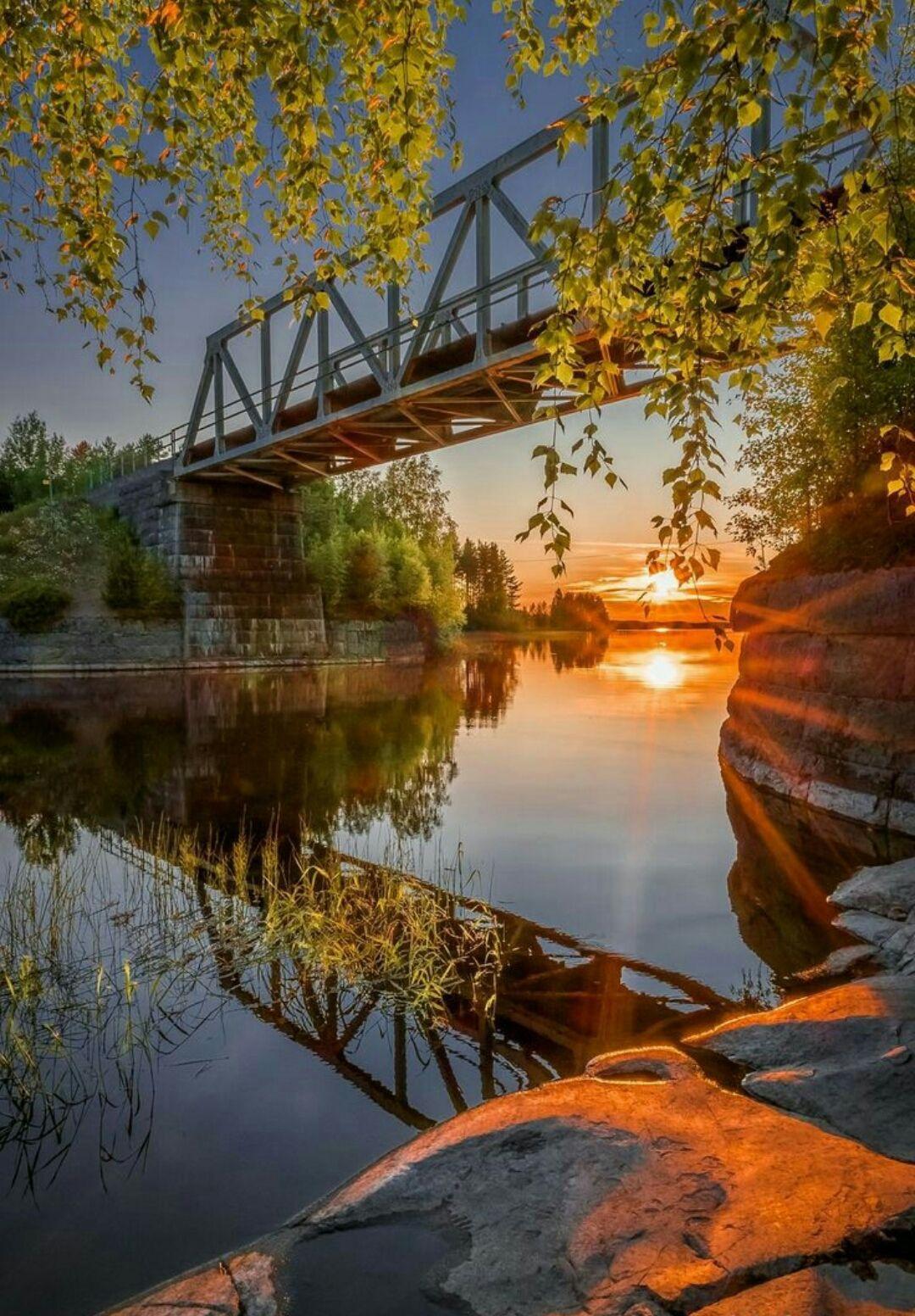 Nature Profile Photos Amp Wallpapers Beautiful Sunset Photo Scenery