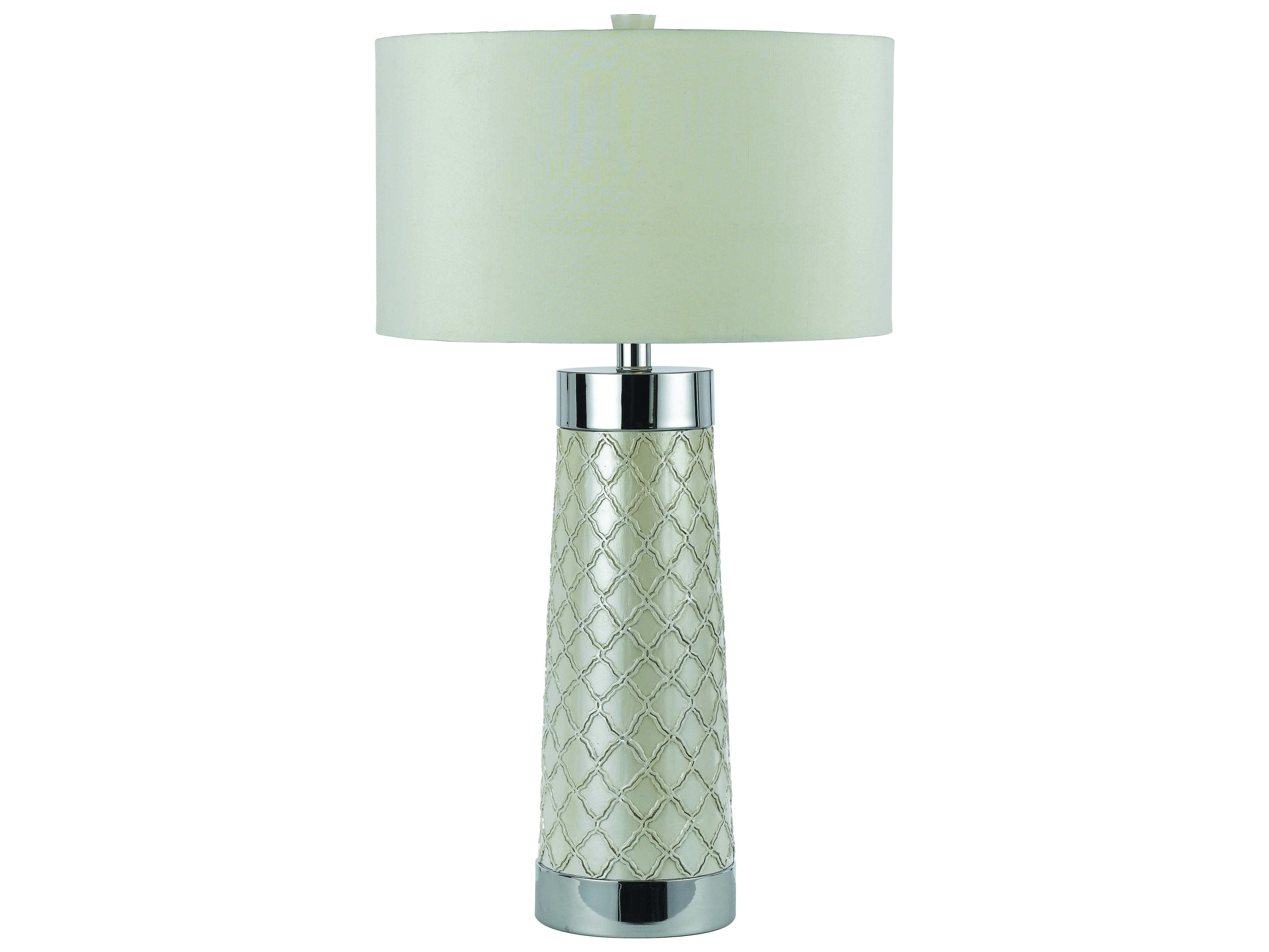 Af lighting candice olson chrome table lamp color crush white af lighting candice olson chrome table lamp geotapseo Image collections