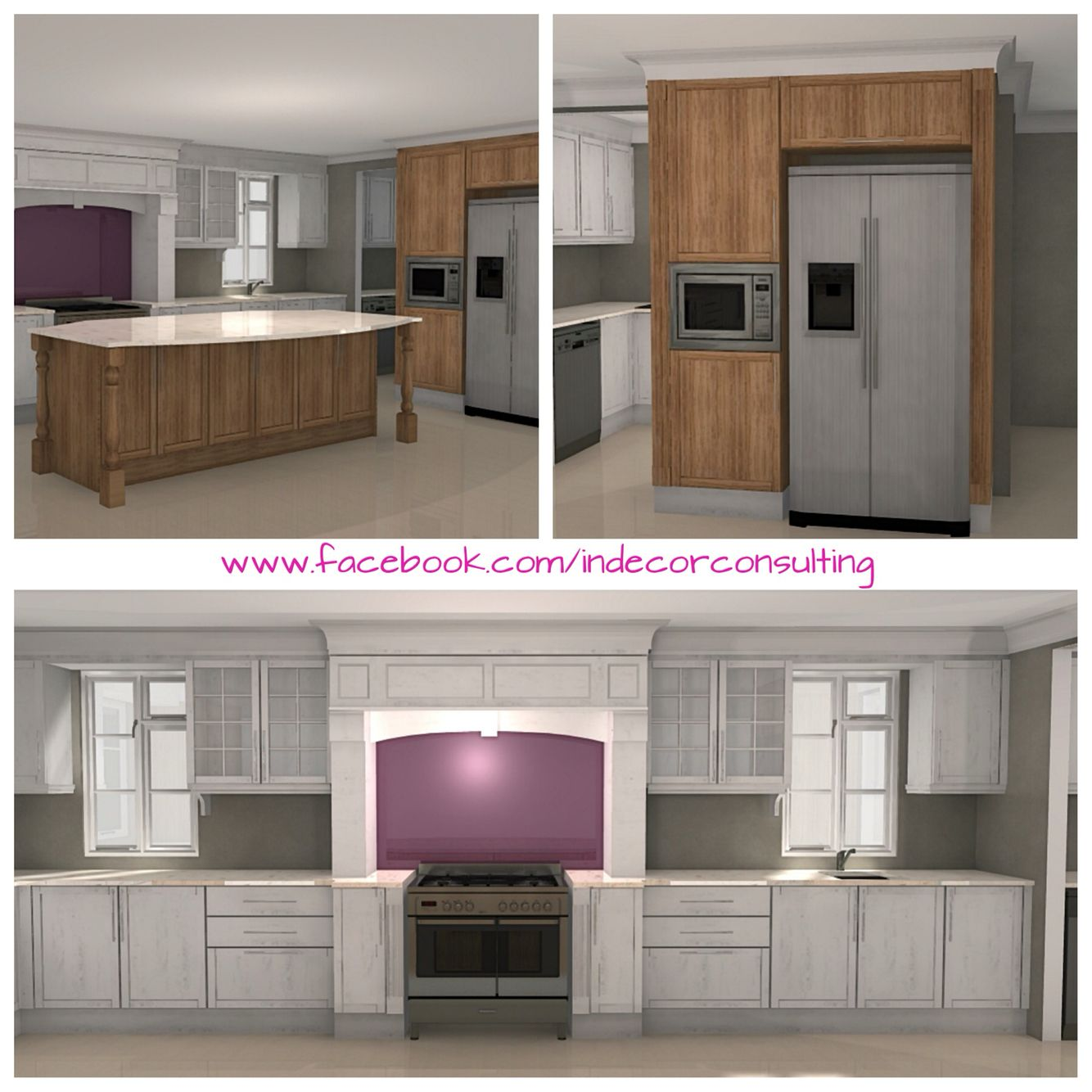Conceptual Kitchen Design For A New Build In Franschoek