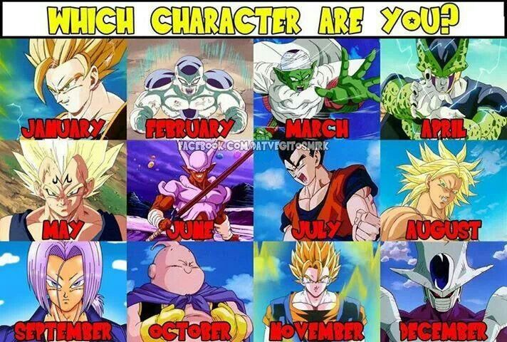 Z Characters Anime : Which dbz character are you dragon ball z pinterest