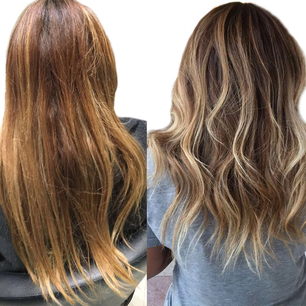 how to remove brassy tones from brown hair naturally