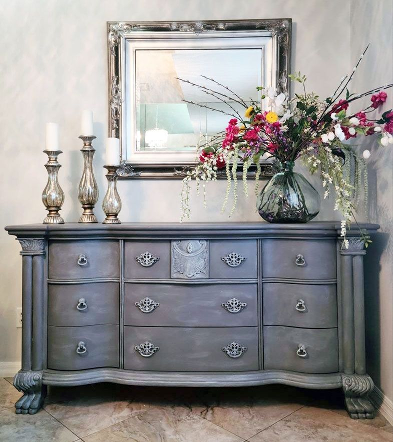 Pin on Gray Painted Furniture