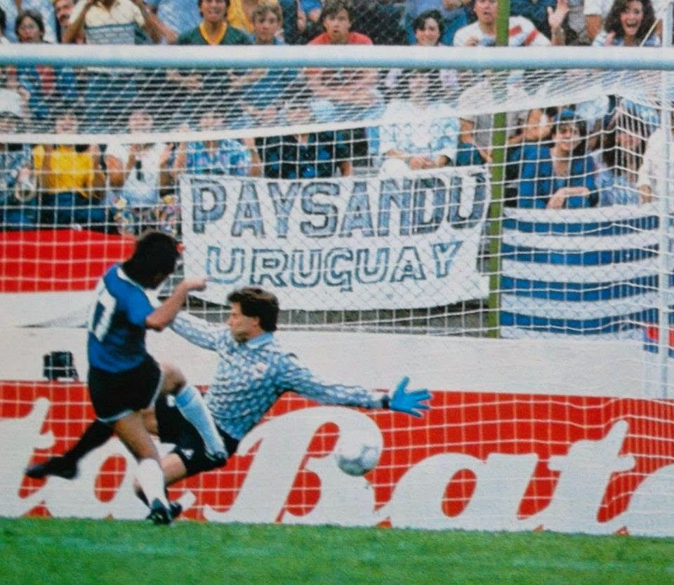 Image result for uruguay vs argentina mexico 86