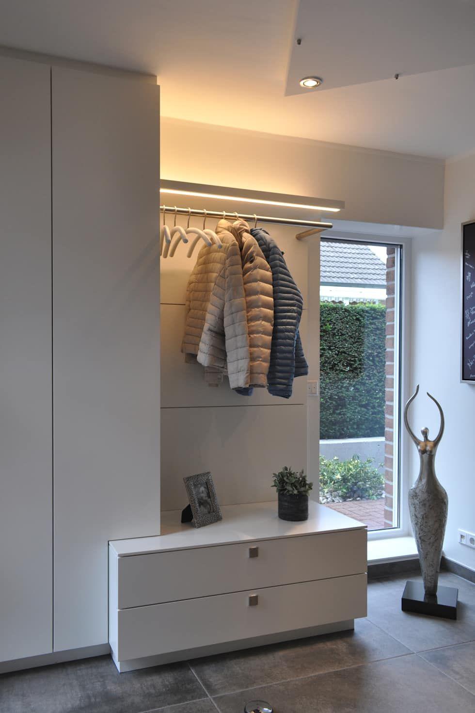 Wohnraumgestaltung – wohnmöbel nach maß im münsterland: flur & diele von klocke möbelwerkstätte ...