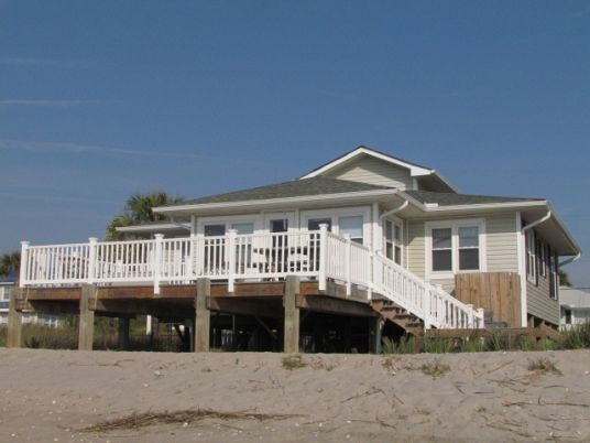 Edisto Realty - Sea Oats - Beautiful Beachfront Home - Edisto Island, SC