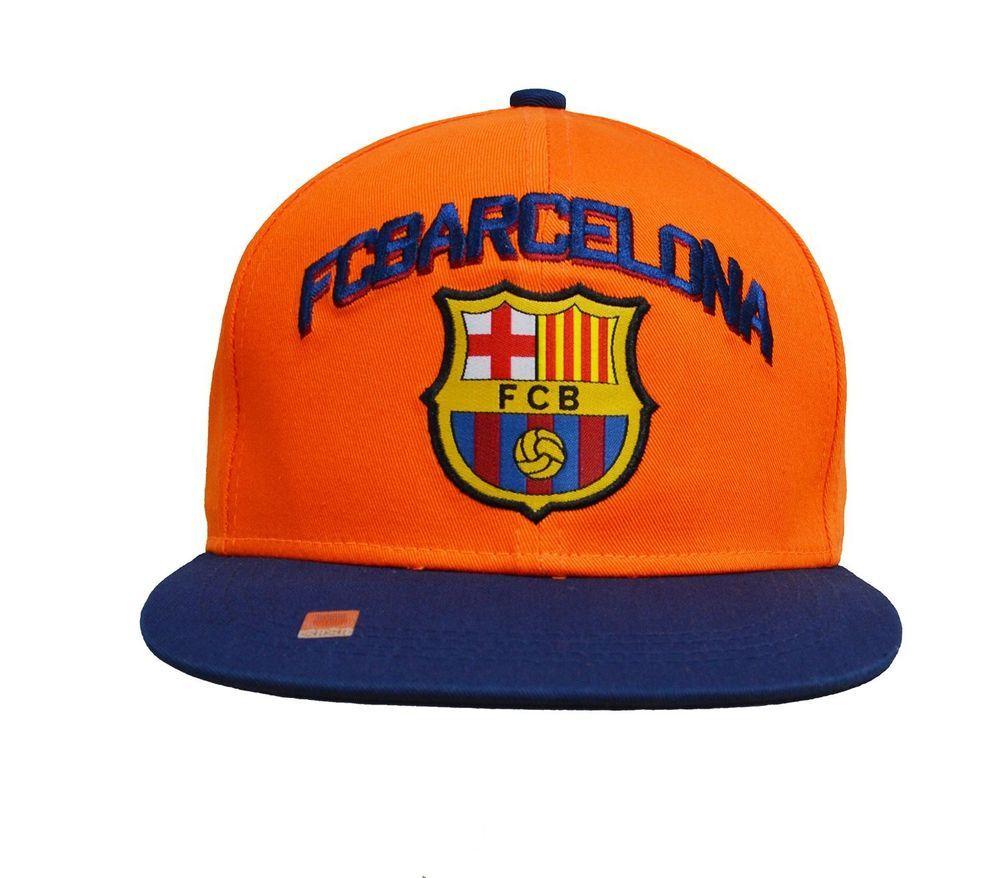 ed8101fa8ba Messi Barcelona Fc Hat Cap New with Tags Official Product Flat Brim Snapback   Rhinox  FCBarcelona