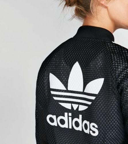 adidas damen mesh tracktop sweatshirt