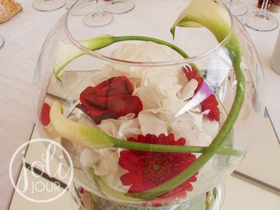 boule centre de table mariage avec fleur bordeau recherche google d co mariage pinterest. Black Bedroom Furniture Sets. Home Design Ideas