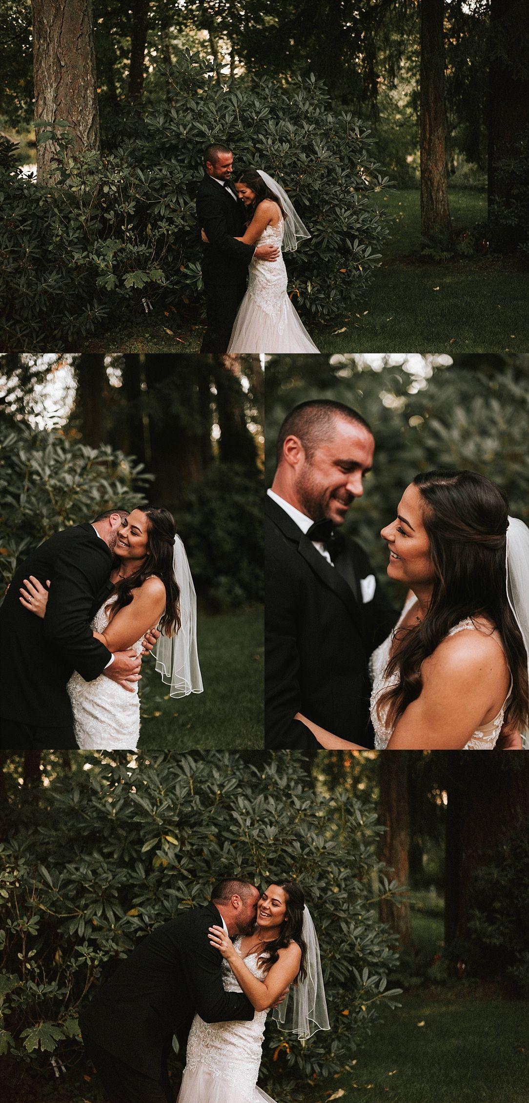 romantic oregon backyard wedding | Romantic backyard ...