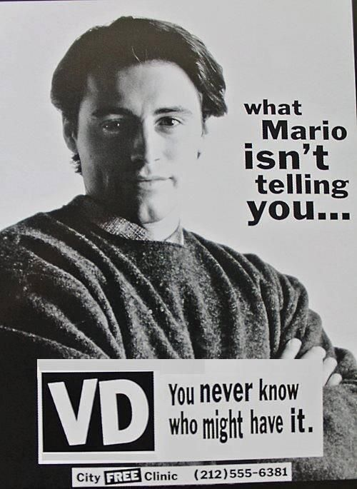 what Mario isn't telling you    #joey #friends   F R I E N D S