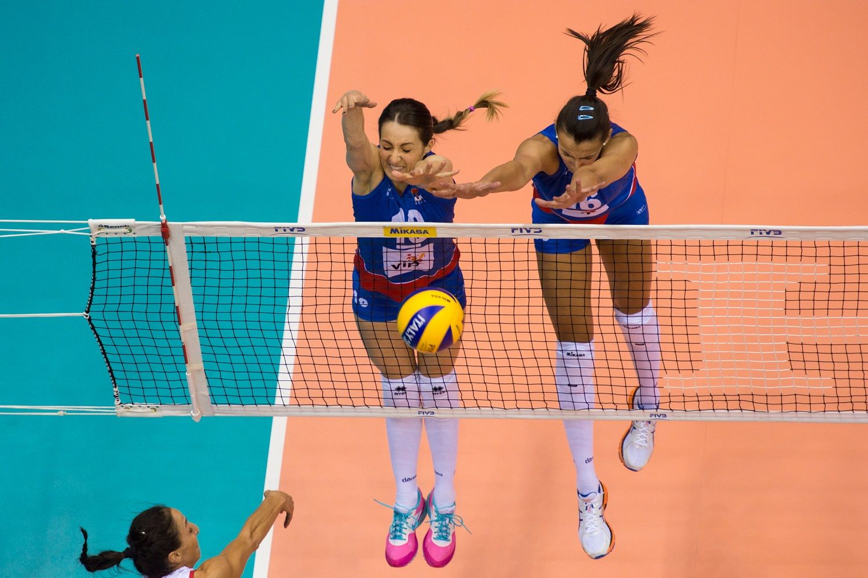 Maja Ognjenovic And Milena Rasic World Championship Volleyball Photo