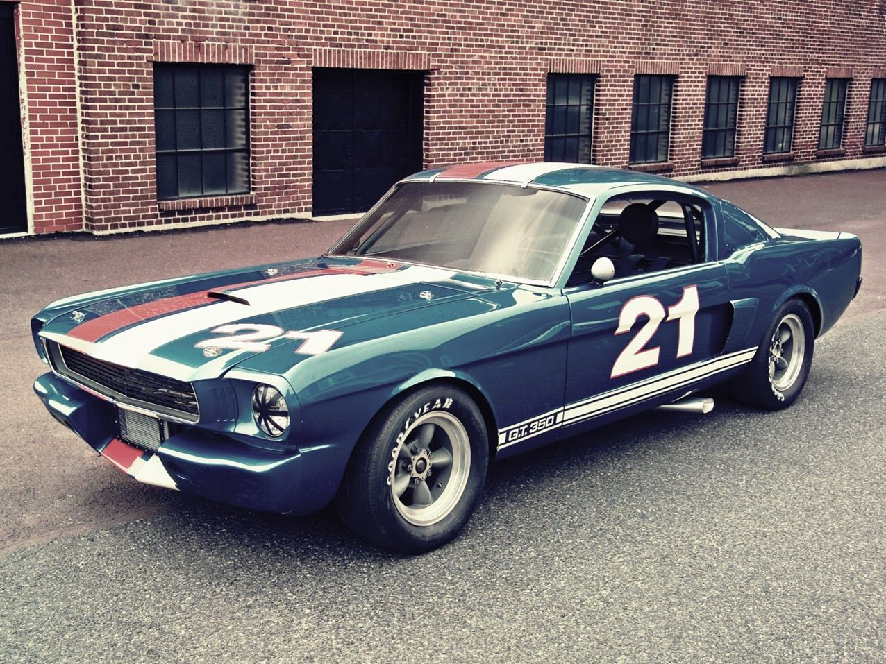 Ford Mustang Shelby GT350 R (1966) Ford mustang shelby