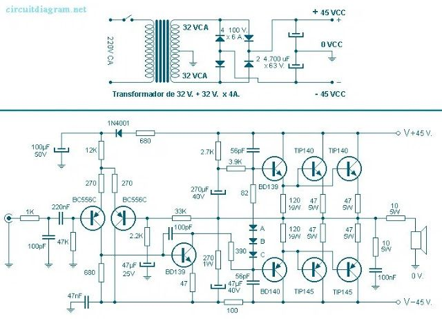 campo el trico amplificador 260w batista pinterest audio rh pinterest com