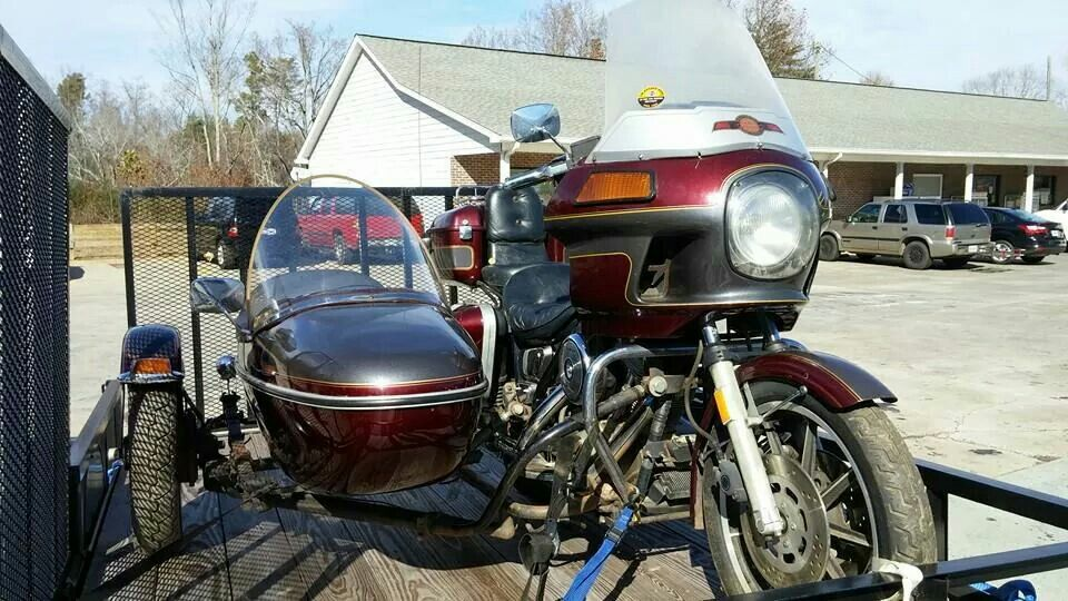 RD with Sidecar  | FXRT | Sidecar, Motorcycle, Vehicles