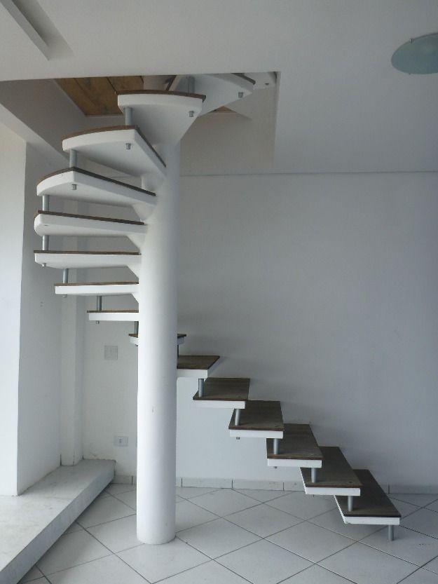 Escada Caracol Pre Moldada 7 Escada Caracol Pinterest Stairs