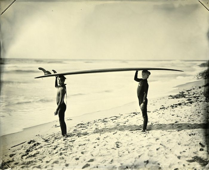 SurfLand Is Photographer Joni Sternbachs Portrait Project Of Surfing Culture Shot On Both Coasts The United States And Australia Using Tintypes