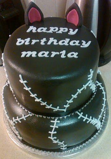 Cat Birthday Twin Cake Cupcake Ideas