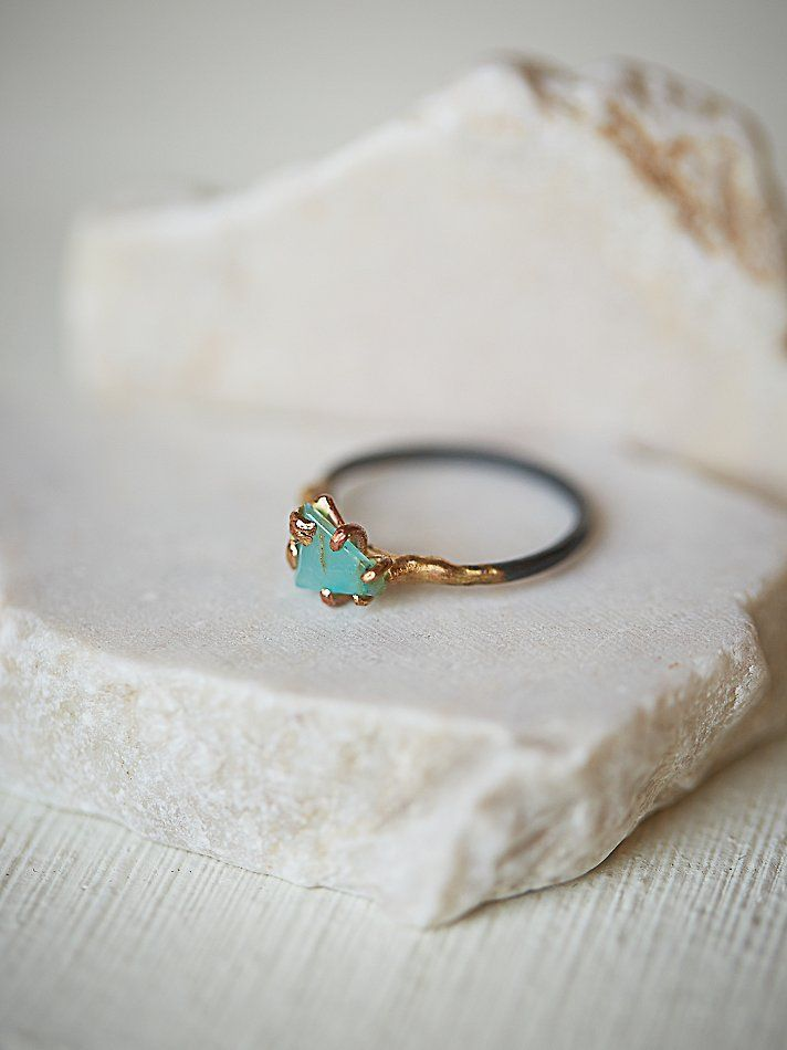 Rose Gold Floral Halo Engagement Ring