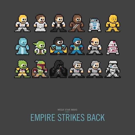 100 Examples Of Pixel Art Star Wars Prints Star Wars Love