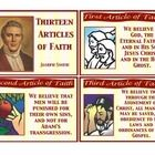 Article of Faith flash cards to help with memorization....