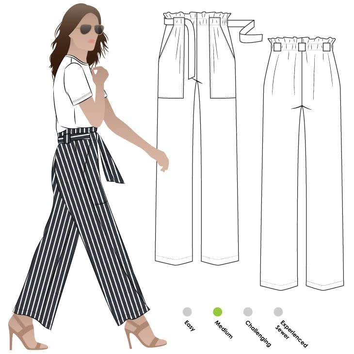 Thea Pant Sewing Pattern By Style Arc