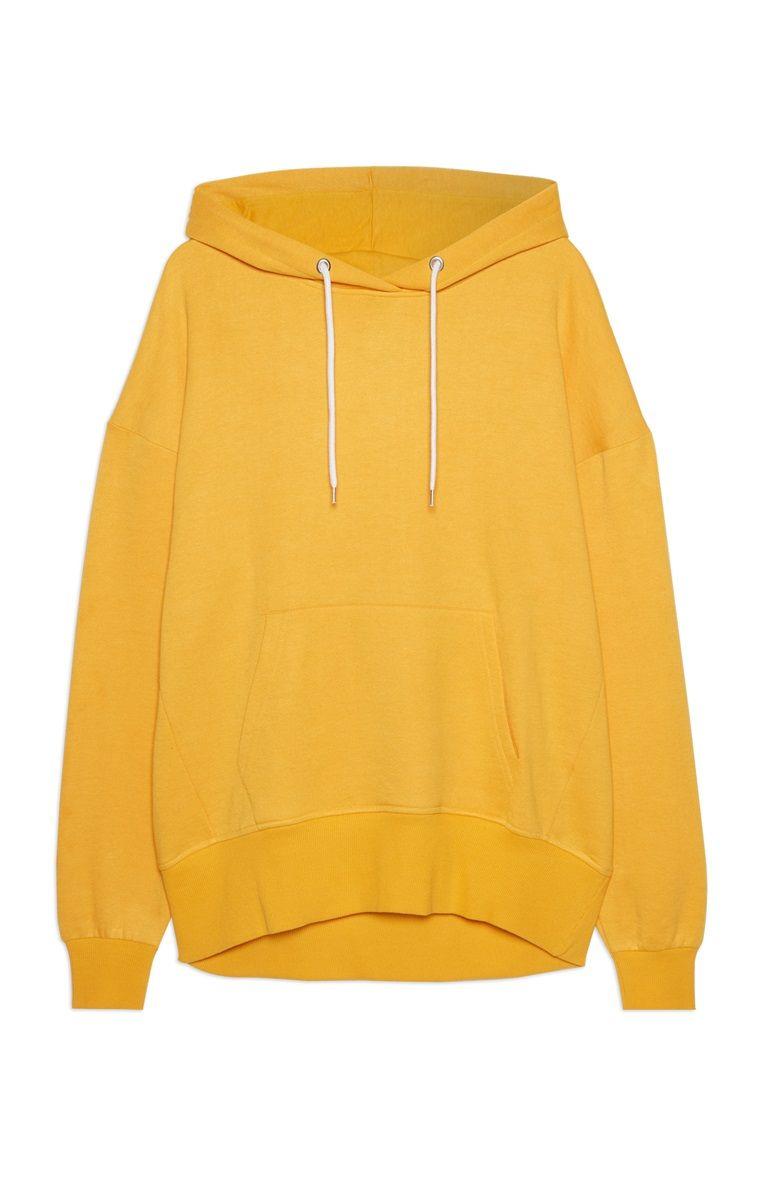 0f980ca4921 Primark - Mustard Longline Oversized Hoodie